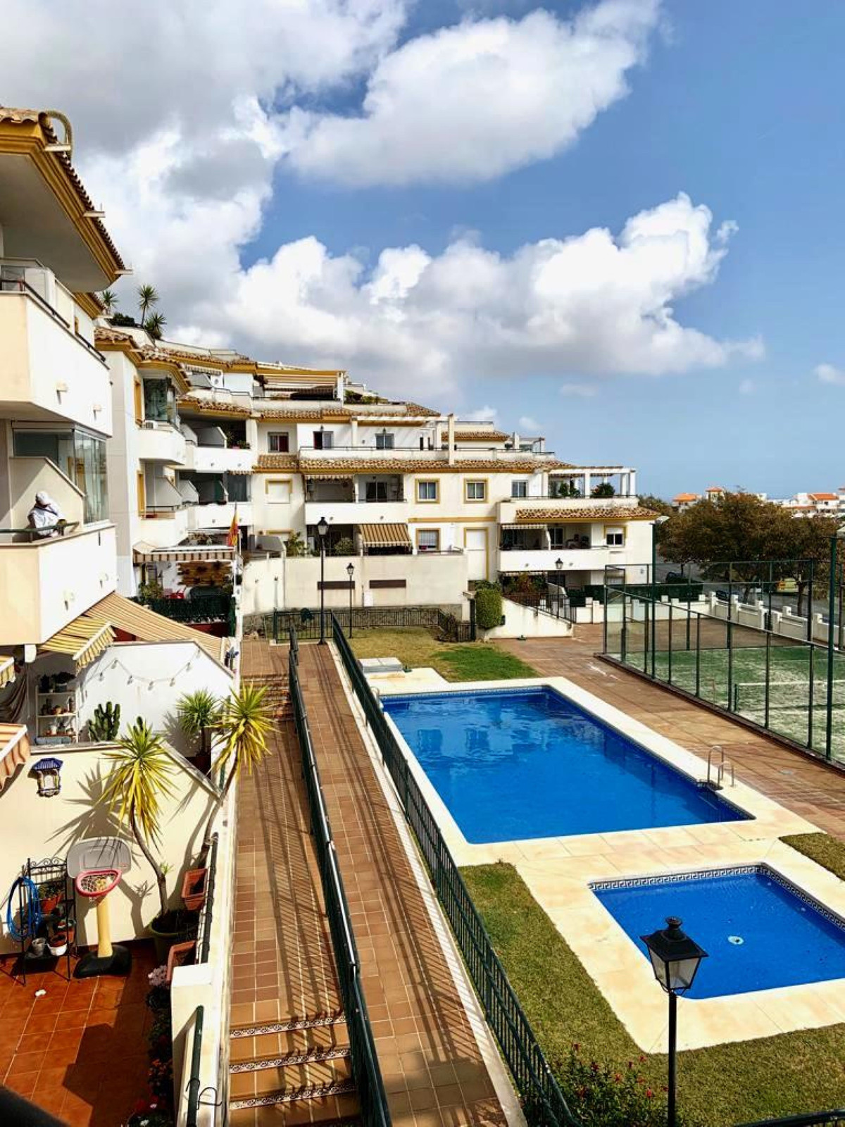 3 bedroom apartment in Benalmadena Pueblo. Very spacious and bright apartment in one of the most pop, Spain