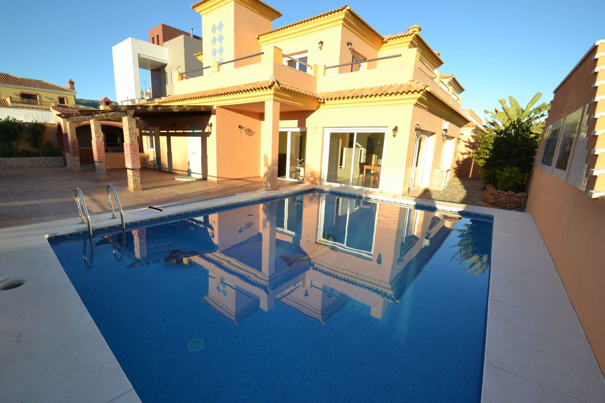 Spectacular luxury villa with 6 bedrooms and 6 bathrooms in Benalmadena Costa just 500m from the bea, Spain