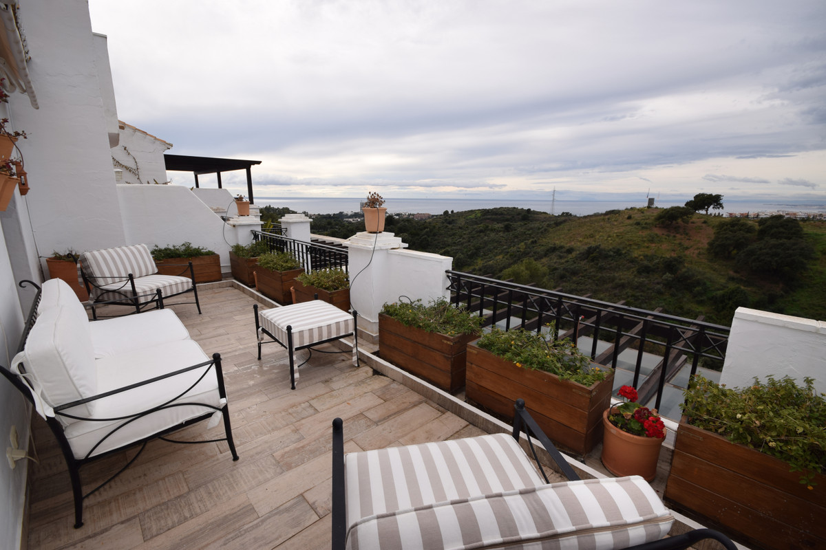 Incredible duplex penthouse with sea views in one of the most luxurious areas of Marbella. West faci,Spain