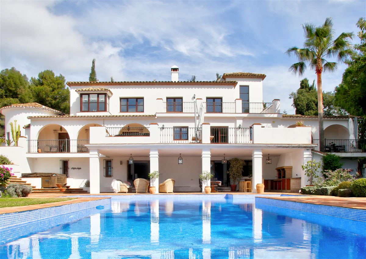 Marbella Banus Villa for Sale on The Golden Mile - R3166174