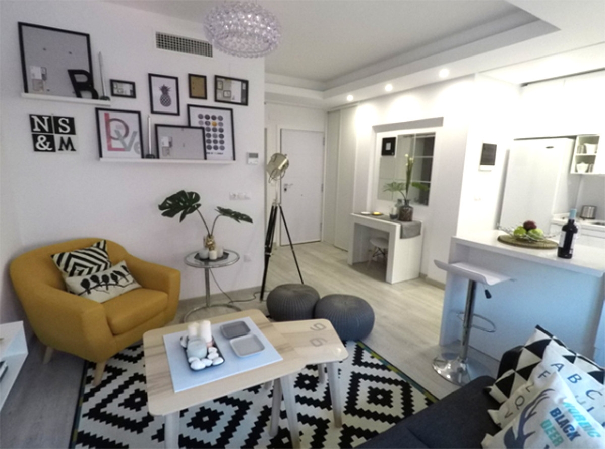 Magnificent apartment with 1 bedroom and 1 bathroom located in the heart of Marbella, on the main st,Spain