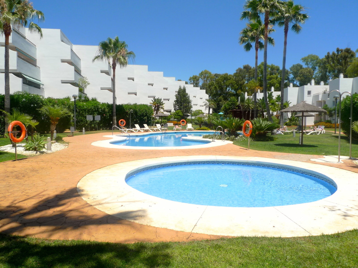 Marvelous 2 bedroom groundfloor apartment with garage for two cars and storage included located in t,Spain