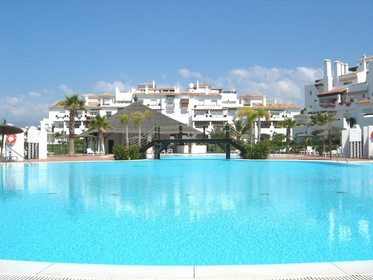 Fabulous refurbished first floor apartment located in the exclusive development of Las Adelfas, firs, Spain
