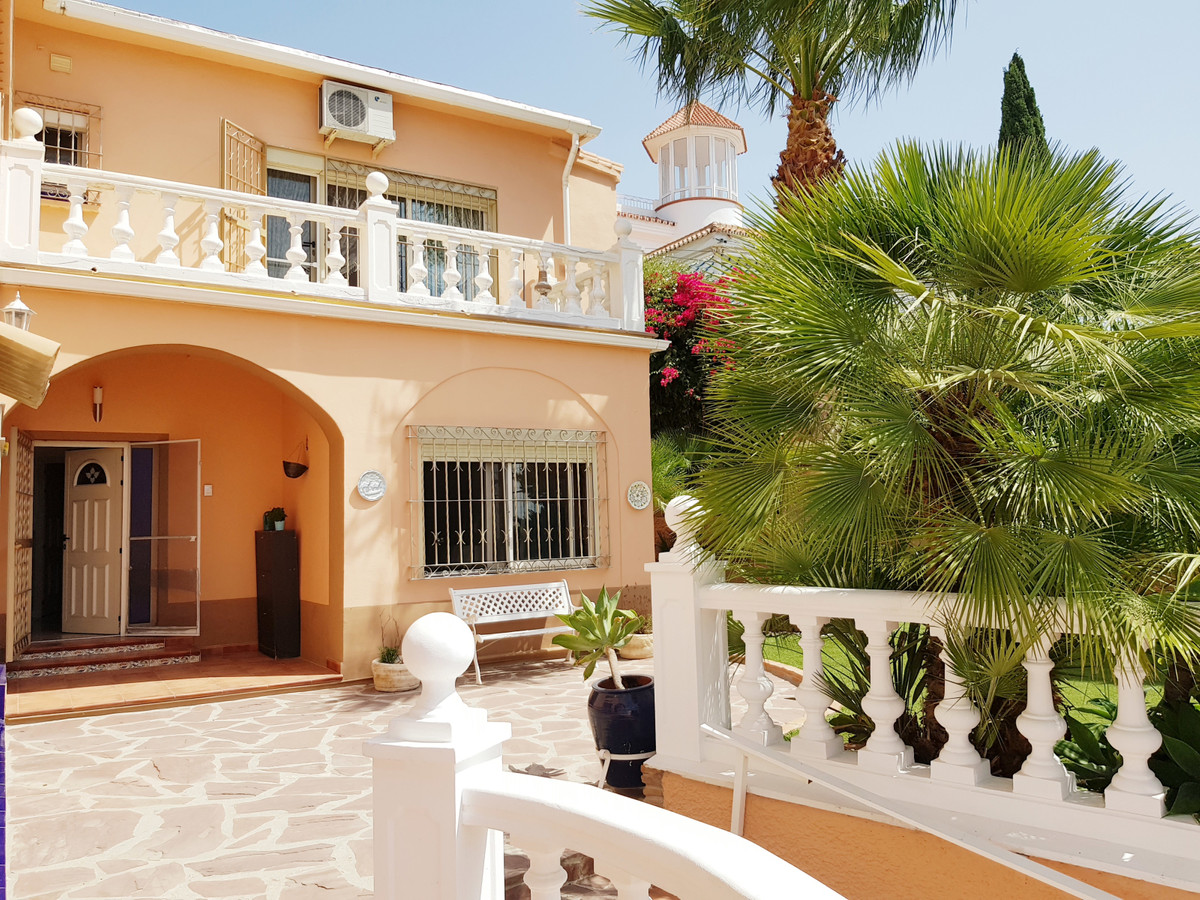 This fantastic 6 bedroom villa, with private pool and Jacuzzi, is in Torremolinos walking distance t, Spain