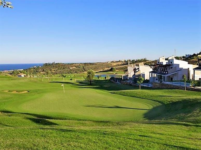 Brand new luxury villa in the middle of the golf course in the Valle Romano area of ??Estepona. Thes, Spain
