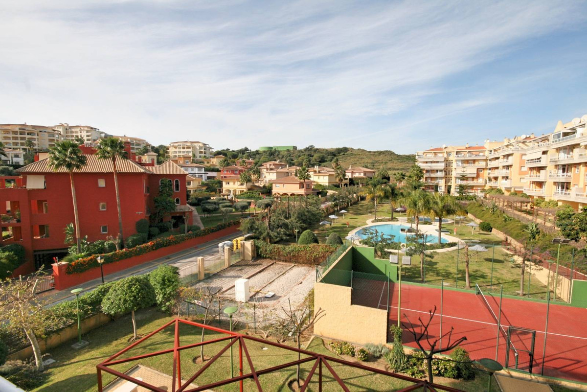 A stunning 3 bedroom corner penthouse apartment with a large wrap around terrace boasting views to M,Spain