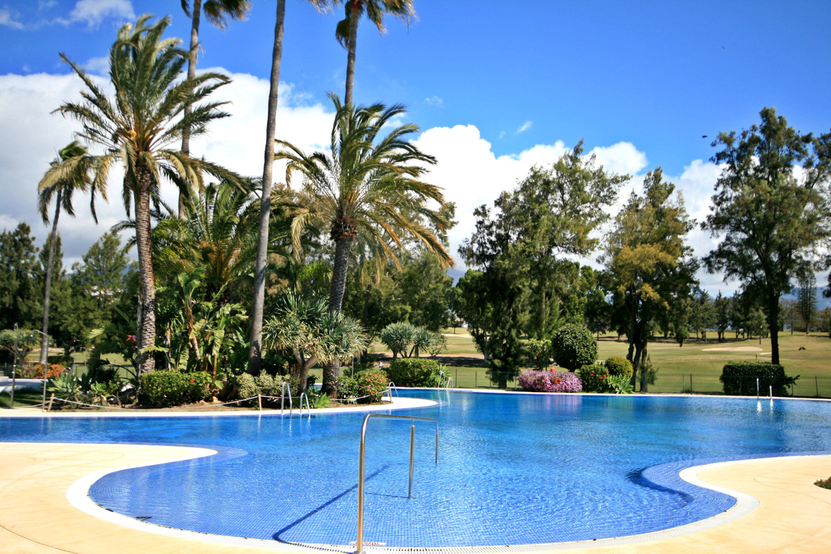 AN INCREDIBLY RARE OPPORTUNITY to acquire a ground floor poolside garden apartment in a front line g, Spain