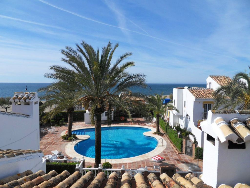 This is a semi detached house located in the much sought after development of Mijas Playa Club.  The,Spain