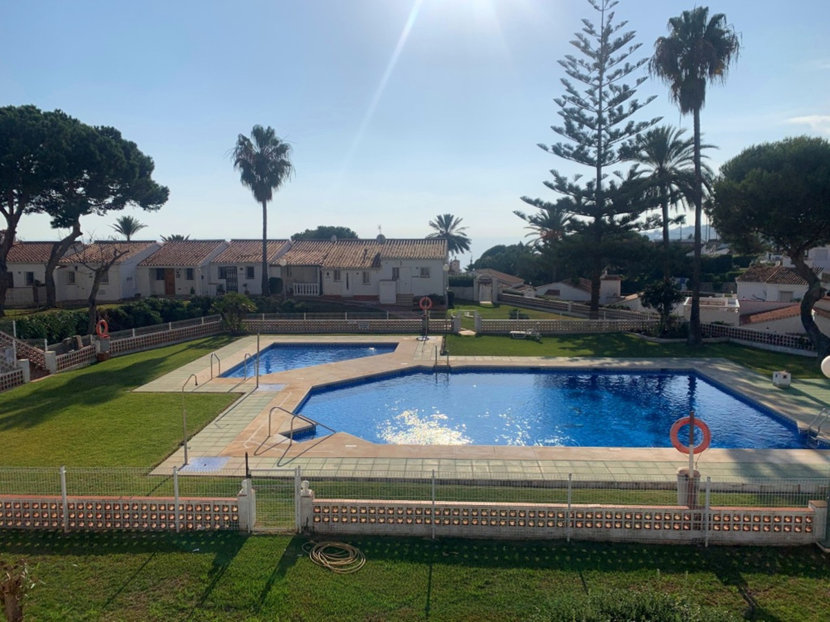 This is a lovely bright property within a short walk of La Cala de Mijas.  This property has lots of,Spain
