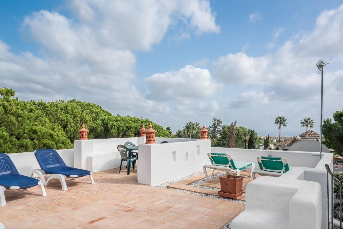 Beautiful townhouse situated in the foothills of the exclusive Sierra Blanca district of Marbella; t,Spain
