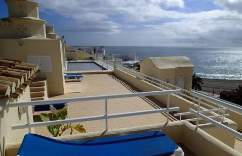 SPECTACULAR apartment on the beach front in Puerto Marina with incredible views with 2 terraces one ,Spain