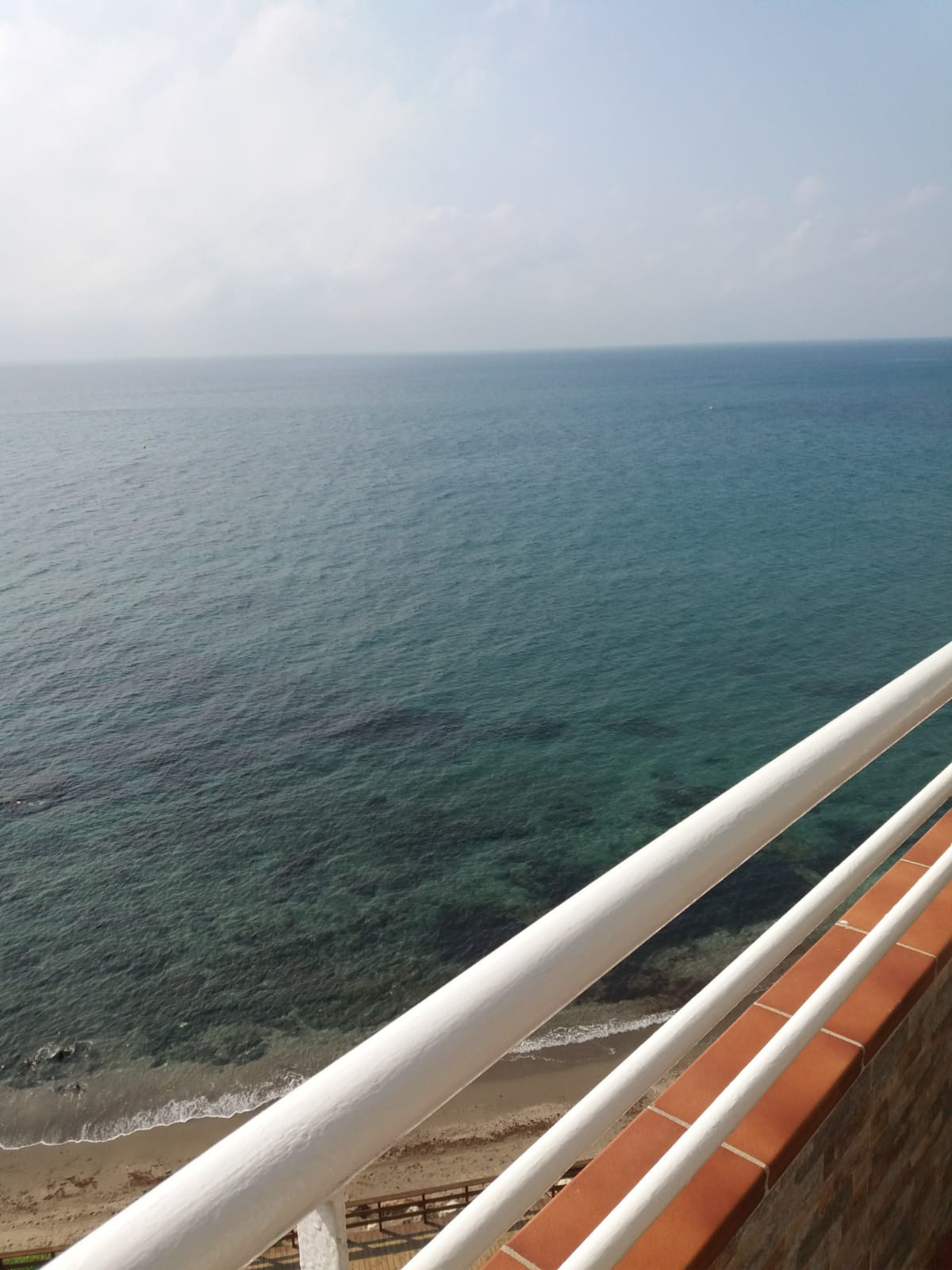 Beach front line spectacular views of Africa and Gibraltar the apartment consists of 1 large bedroom,Spain