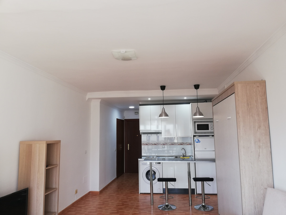 Studio completely renovated with excellent qualities. It is sold furnished. Bathroom with shower, eq,Spain