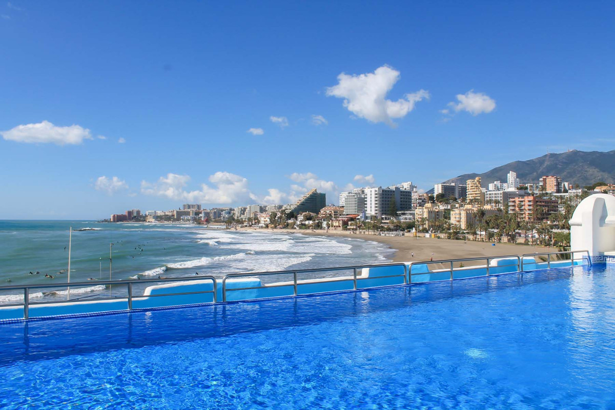 Wonderful beachfront 2 bedroom apartment in Benalmadena !!   This property is in a unique location, ,Spain