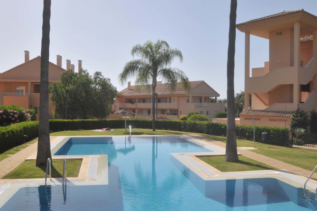 Spacious 3 bed corner apartment is located in Los Jardines de Santa Maria Golf with its beautiful la, Spain