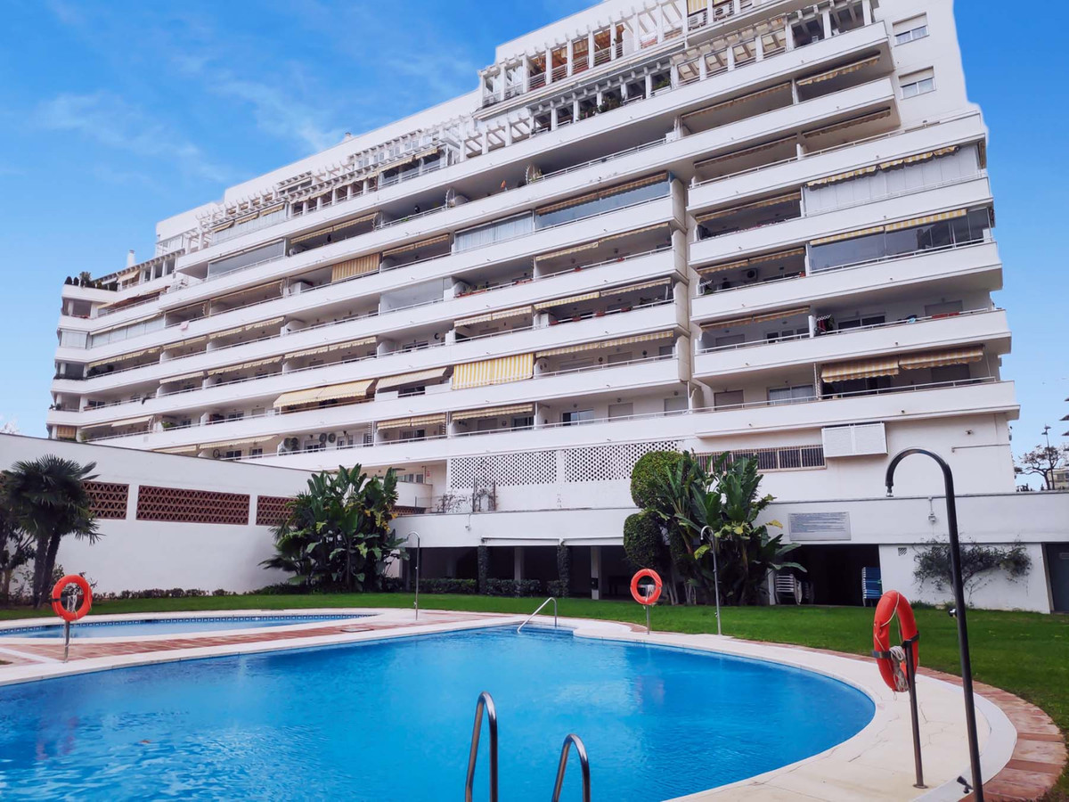Excellent 3 bedroom apartment in Marbella! 250 meters from the beach!!   This property does not only,Spain