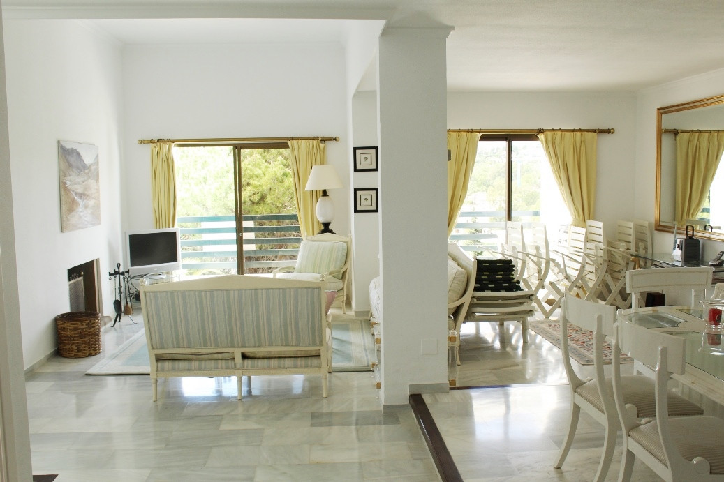 Large and light front line golf townhouse in the popular urbanisation of Los Jarales. As you enter t, Spain