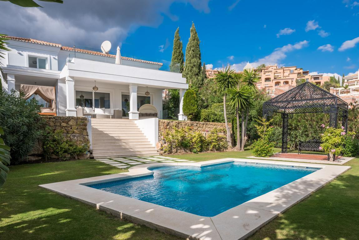 A fully refurbished family villa in the sought after area of La Cerquilla. The house is accessed thr, Spain