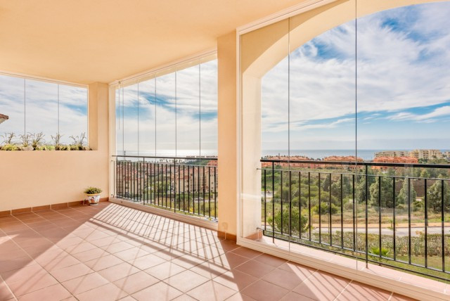 Seaviews apartment with Big terrace South-West facing, perfect location walking distance to beach an, Spain