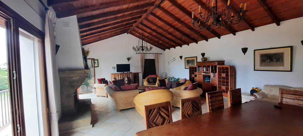 A unique andalusian style villa set in quiet area of Mijas Golf with south facing views with sun all,Spain