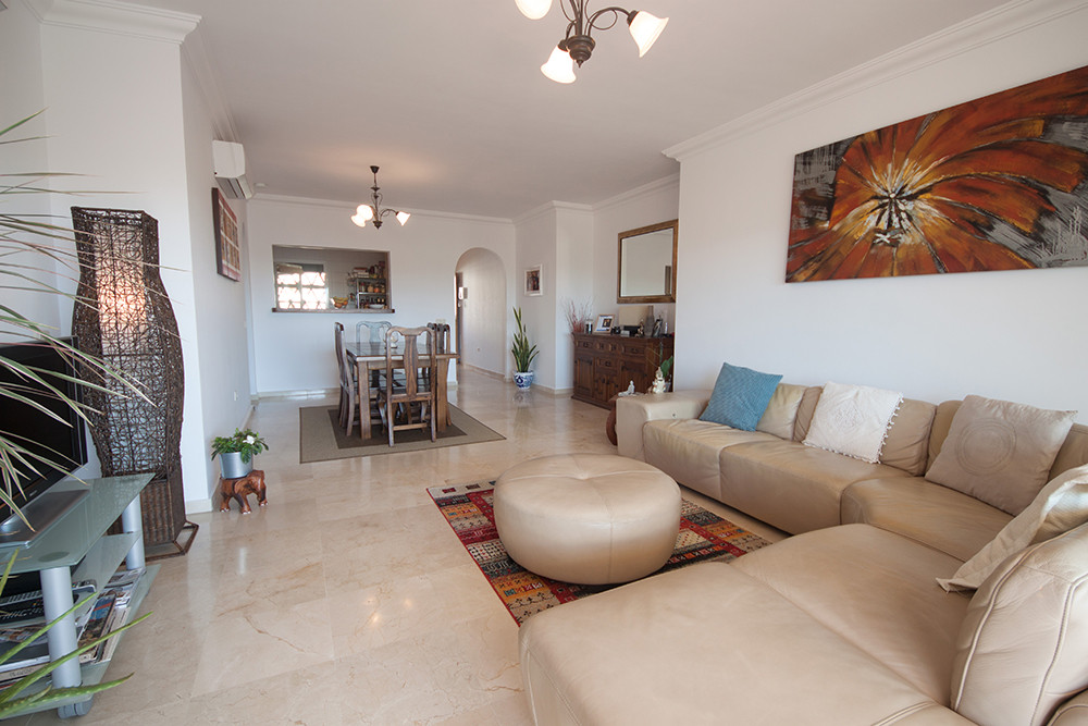 Beautiful spacious two bedroom two bathroom apartment in the popular La Cala Hills urbanisation. The Spain