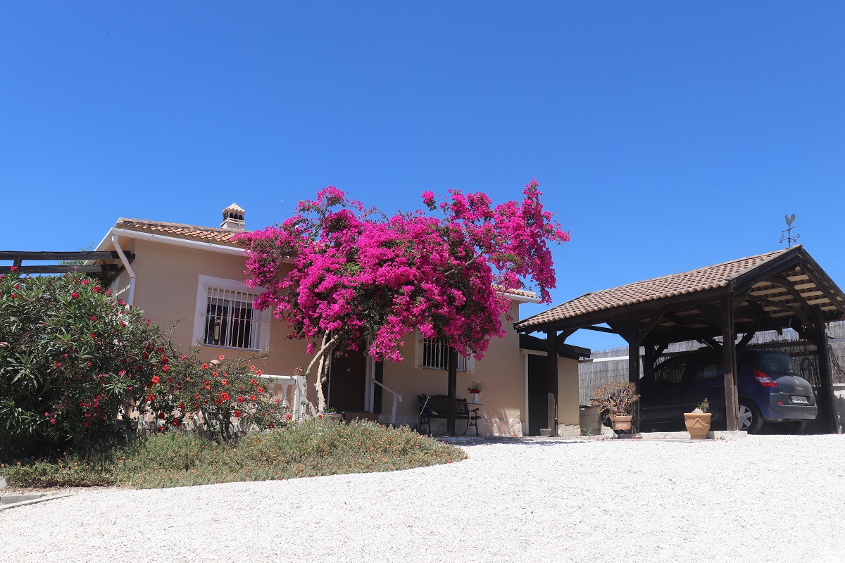 This cozy finca is located at about half an hour's easy drive from Malaga's city center. The, Spain