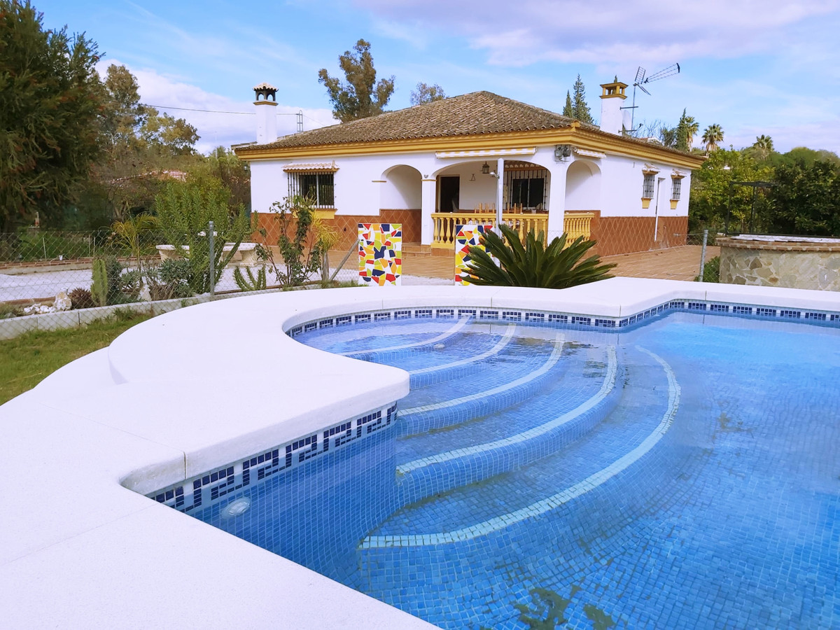 This lovely property with views, pool & good access a short drive into town.  The house on one l, Spain