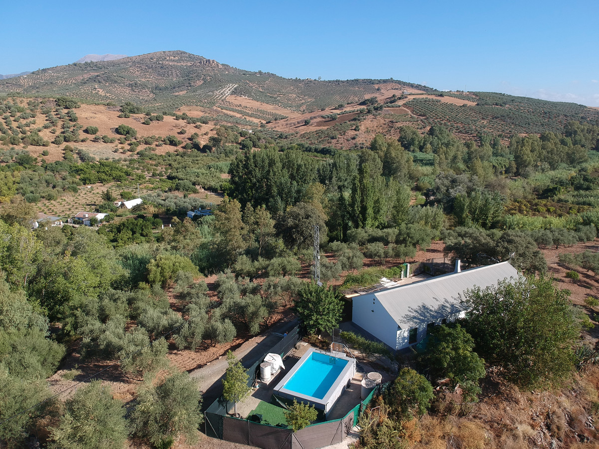 A traditional Spanish campo house with large olive plot close to the Rio Grande.  The house on one l,Spain