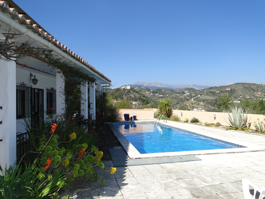NEW PRICE FOR QUICK SALE  Unique private finca with superb views a short walk into the village of Mo, Spain