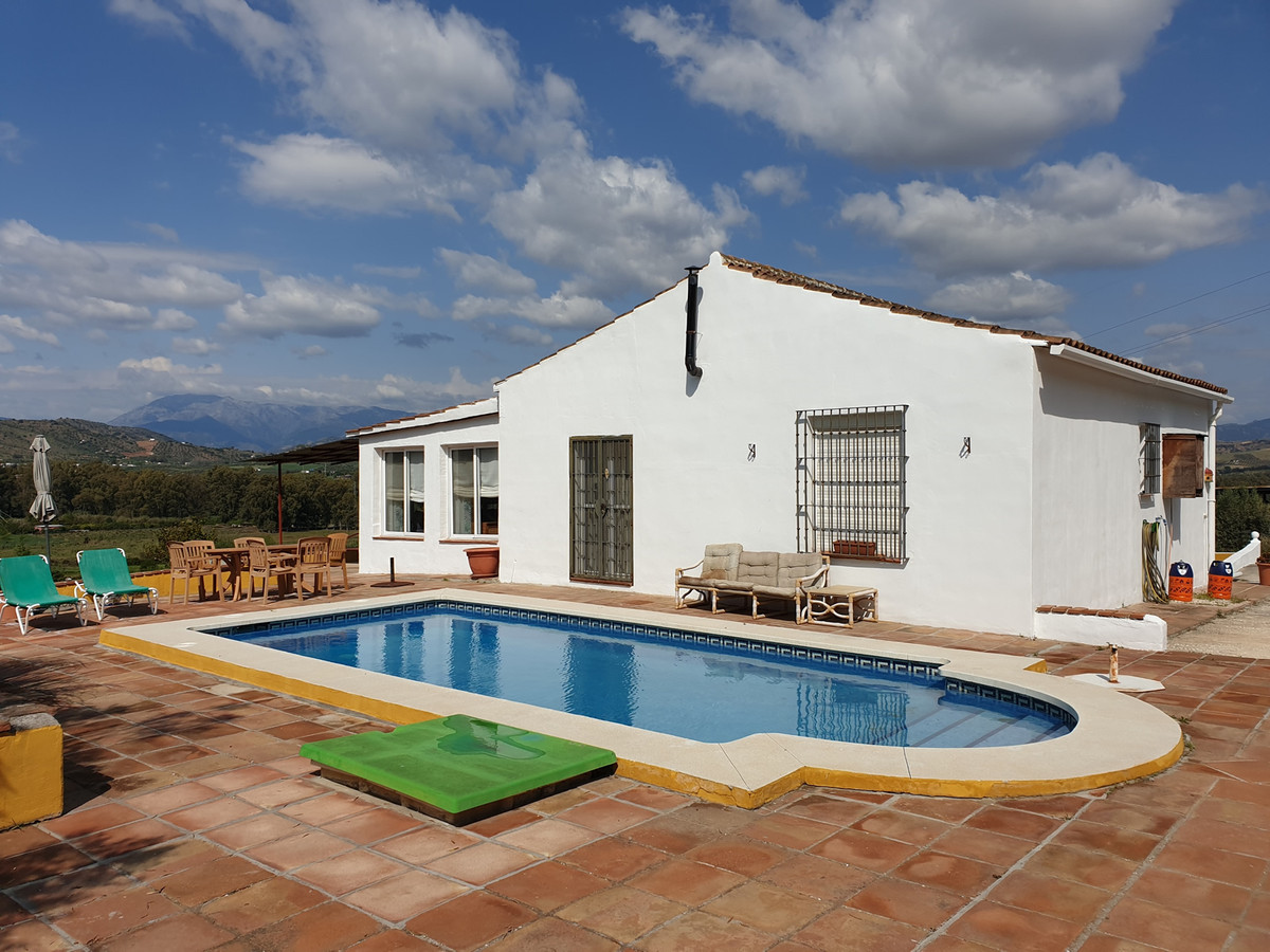 Finca with stunning views and separate guest apartment.  The property on 2 levels comprises main pro,Spain
