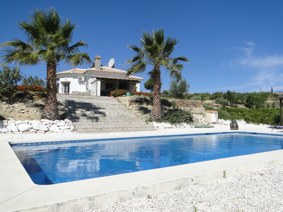 RESERVED!  Country finca built on one level with beautiful countryside views.  The property is taste,Spain