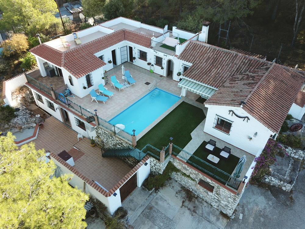 A unique country property bordering the nature reserve of Sierra de Alhaurin with fantastic views ov,Spain