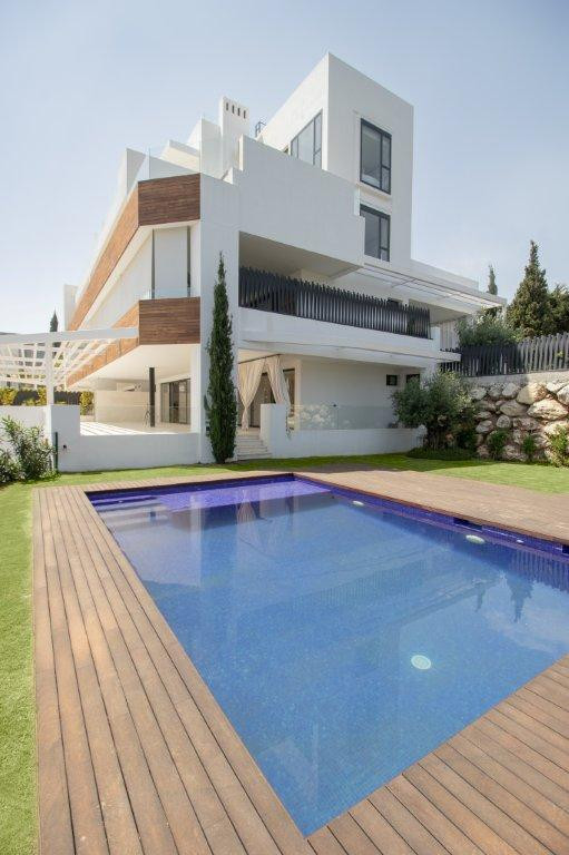 Eight large luxury apartments and exclusive design on Marbella's Golden Mile  The apartments are,Spain