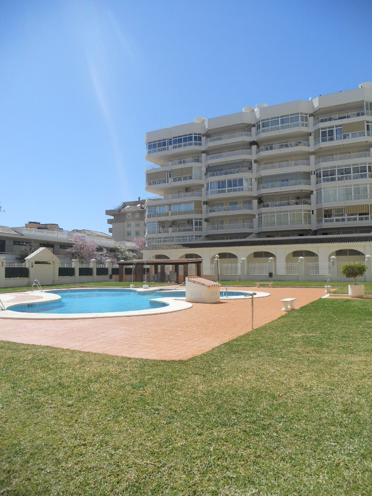 Exclusive apartment located in the center of los Boliches. Very spacious, large terraza , 3 double b,Spain