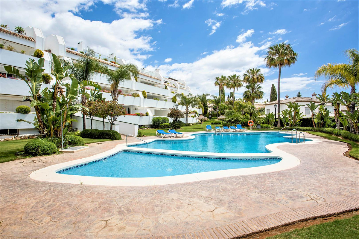 Very large beachside apartment set in one of the most sought after Areas in Marbella. Bahia de Marbe, Spain