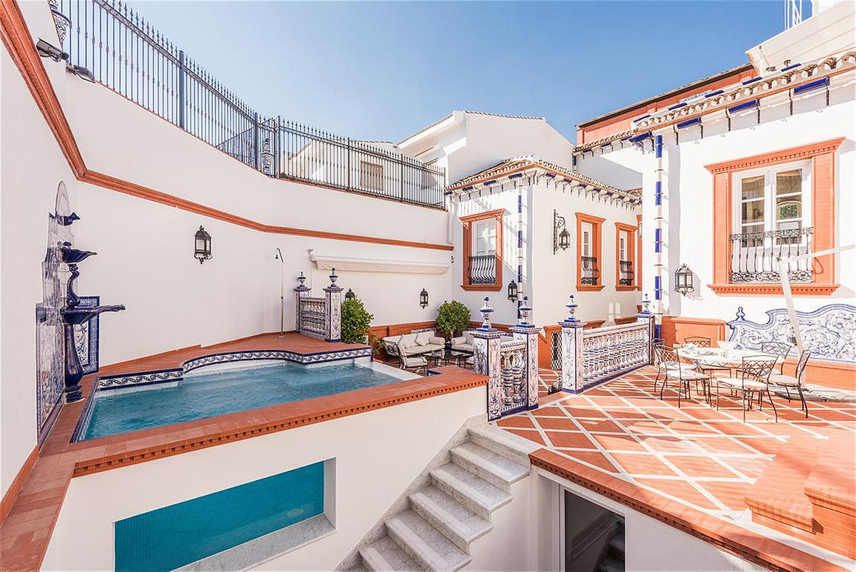 This majestic estate dated 1882, an Andalusian bourgeoisie palace, has been exquisitely refurbished ,Spain