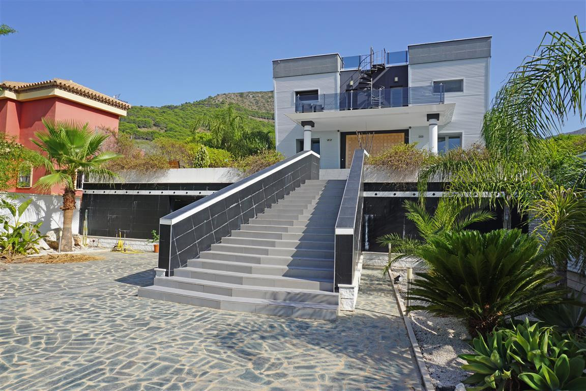 A luxury modern detached villa with cutting-edge design and located in the heart of the Sierra de Pi, Spain