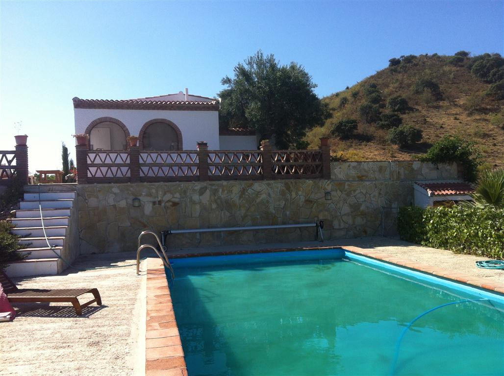 A pretty one-storey, 2 bedroom, one bathroom country house with stunning views of the valley, situat,Spain