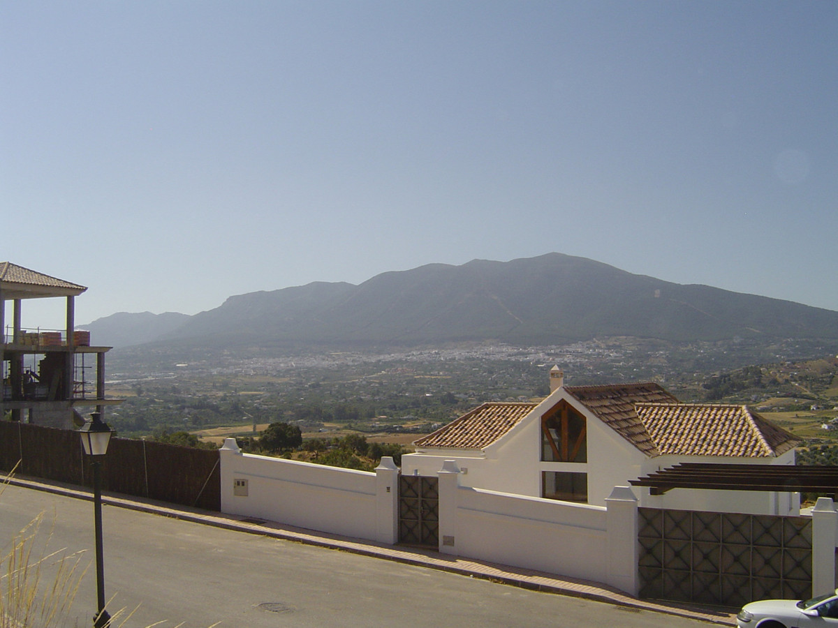 Fantastic urban plot with uninterrupted views across the Guadalhorce valley. Able to build a villa o, Spain
