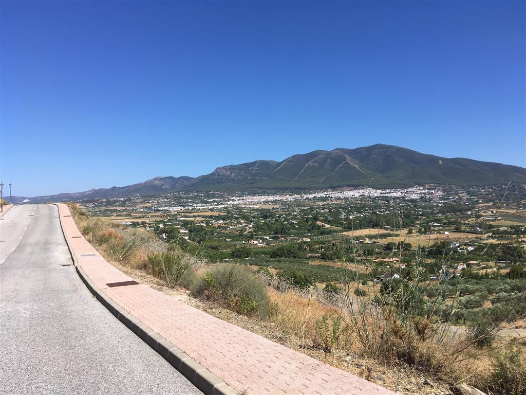 South facing residential plot in Sierra Gorda, with stunning views to the Mijas Mountains and the co,Spain