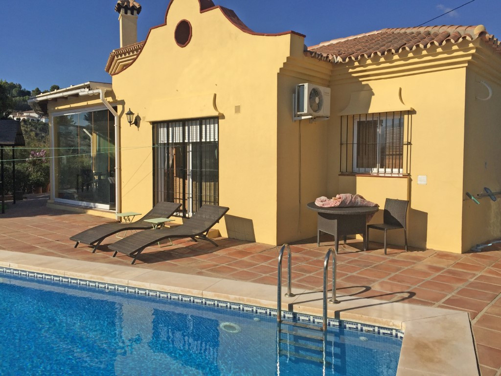 This beautiful country house sits in a very private location with views to the surrounding mountains,Spain