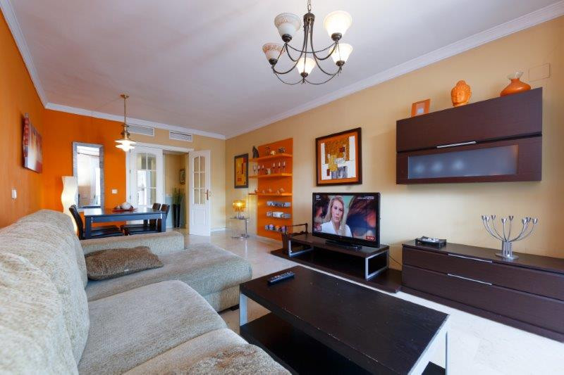 Two - bedroom apartment located in Puerto Banus, Marbella, just a few steps from the beach, shops, a, Spain