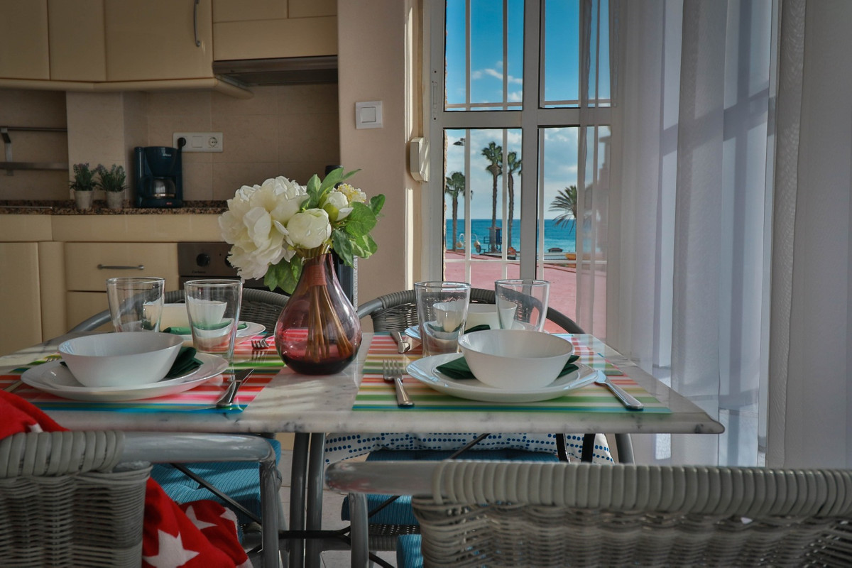1ST LINE BEACH!! Magnificent apartment in Benalmadena costa, located in 1st line Beach, renovated, c,Spain