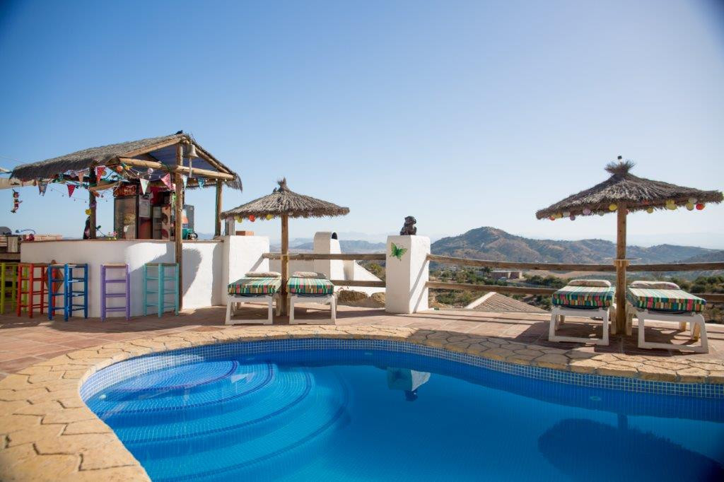 PRICE REDUCED from € 795,000 ---- This beautiful Andalusian style bed and breakfast has been running,Spain