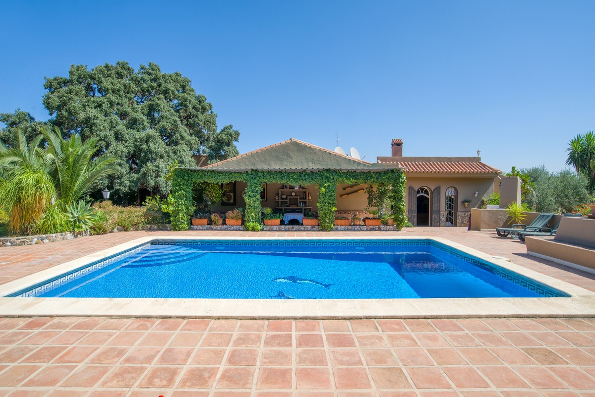 This property is located just outside Alhaurin el Grande and consists of 2 detached houses and 2 apa,Spain