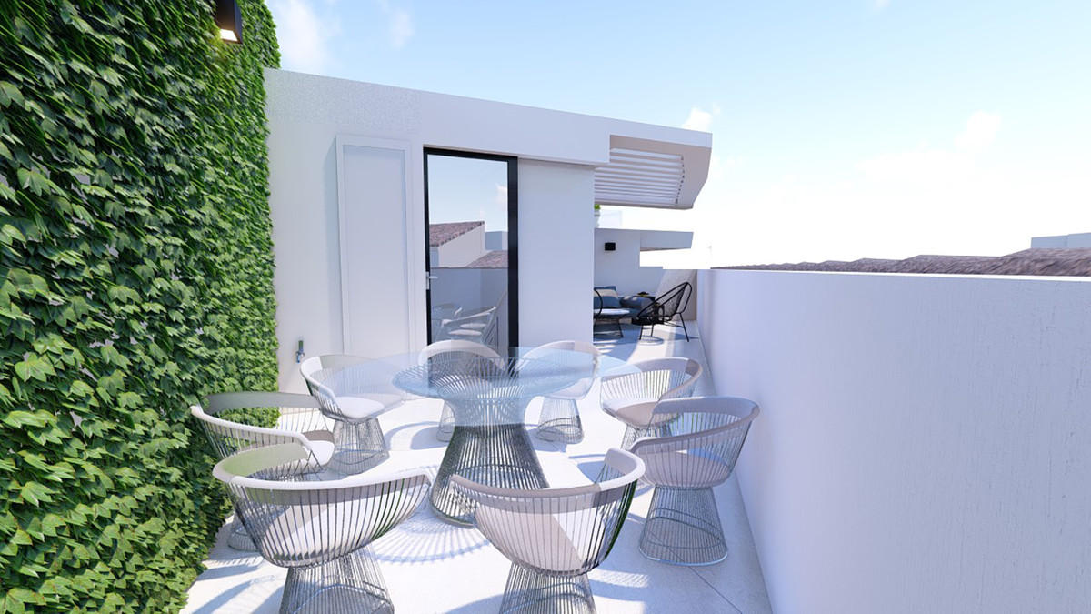 Beautiful townhouse under construction in the old town of Estepona, with walking distance to the bea,Spain