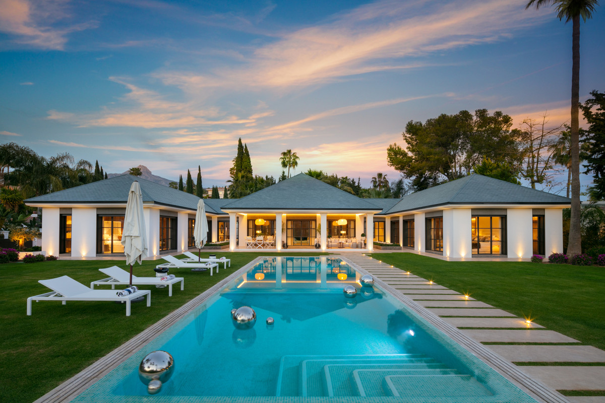 Front line golf estate situated on the royal Las Brisas golf course in Marbella's most desired ,Spain