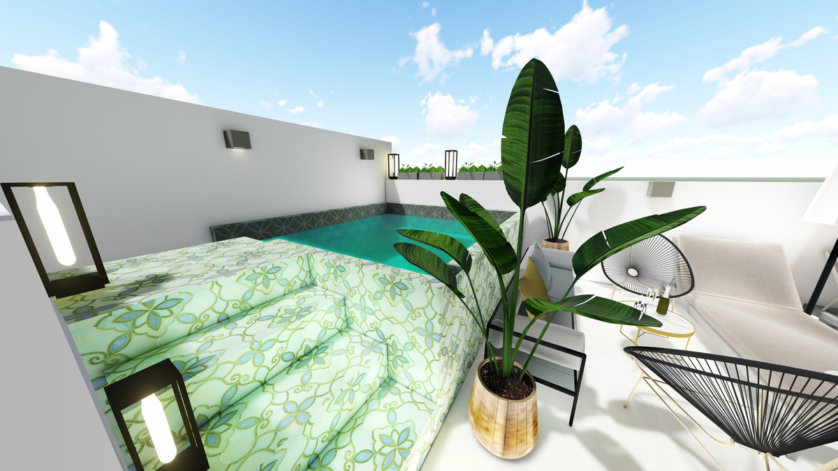 Upcoming development in the old center of Estepona, with walking distance to the beach and views to ,Spain