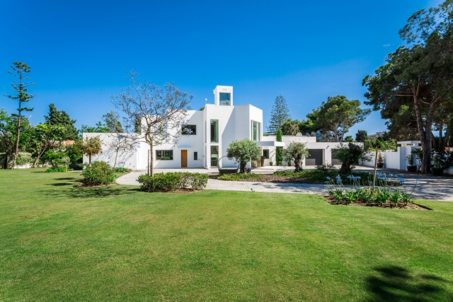 Completely astonishing, modern-day six bedroom villa with impressive sea views from its rooftop terr, Spain