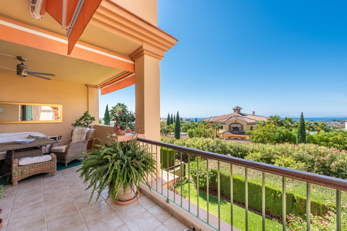 Southwest facing apartment in luxury complex Four Seasons Flamingos with 2 terraces; one covered and,Spain